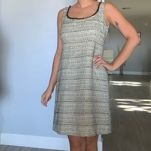 Red Valentino classy tweed dress made in Italy